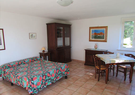 Apartment for 2 + 1 beds