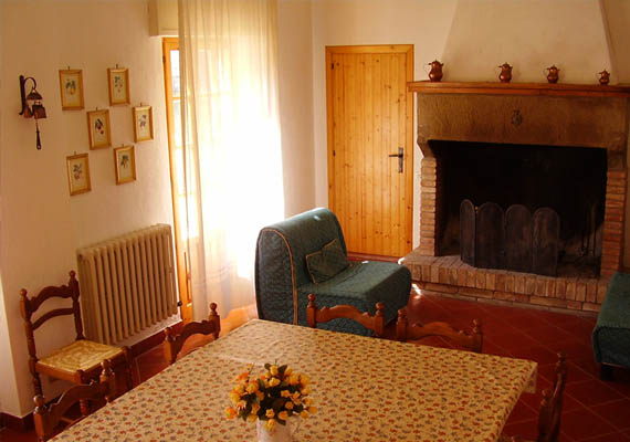 3-bed apartment. It can be connected to the 3-bed Scoiattolo Apartment
