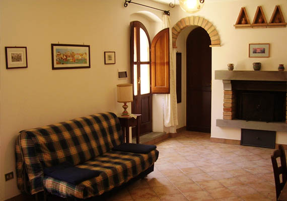 3-bed apartment. It can be connected to the 3-bed Lucertola Apartment